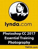 آموزش فتوشاپ سی سی 2017Lynda Photoshop CC 2017 Essential Training Photography