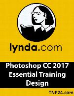 آموزش فتوشاپ سی سی 2017Lynda Photoshop CC 2017 Essential Training Design