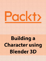 آموزش ساخت کاراکتر با استفاده از بلندرPackt Building a Character using Blender 3D