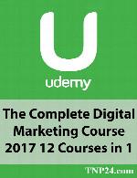 آموزش کامل دیجیتال مارکتینگUdemy The Complete Digital Marketing Course 2017 12 Courses in 1