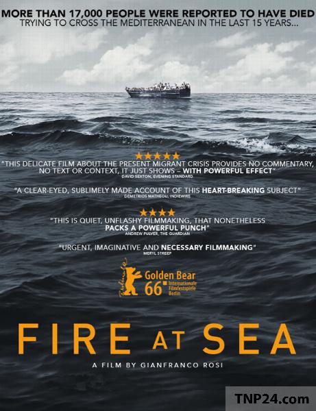 مستند آتش در دریا دوبله فارسی / Fire at Sea 2016 1080p