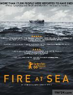 مستند آتش در دریا دوبله فارسیFire at Sea 2016 1080p