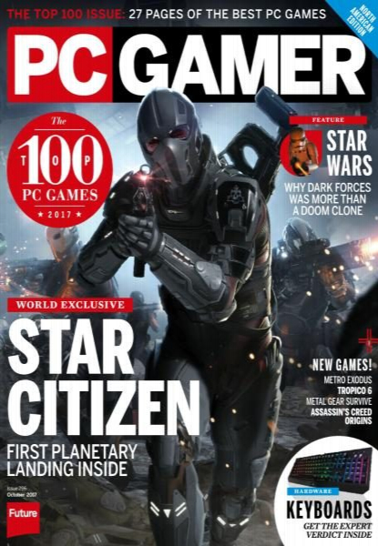 PC Gamer USA  Issue 296  October 2017