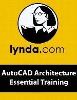 Lynda – AutoCAD Architecture Essential Training (updated Sep 28, 2017)