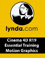 Lynda - Cinema 4D R19 Essential Training Motion Graphics