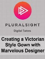 پلورال سایتPluralsight - Creating a Victorian Style Gown with Marvelous Designer