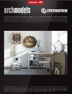 آرک مدل شماره 188 شامل وسایل تزئینی و دکوریEvermotion Archmodel Vol 188