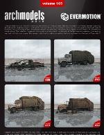آرک مدل شماره 165 شامل المان های شهری مناطق جنگی و متروکهEvermotion Archmodel Vol 165