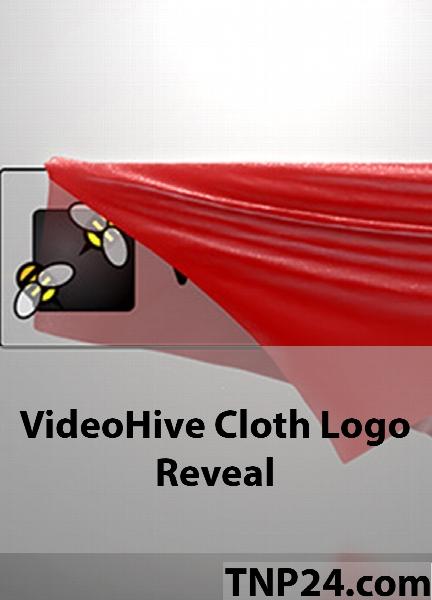 پروژه آماده افترافکت از شرکت ویدیو هایو انواتو / VideoHive Envato Cloth Logo Reveal