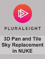 Digital Tutors - 3D Pan and Tile Sky Replacement in NUKE