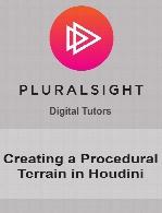 Digital Tutors - Creating a Procedural Terrain in Houdini