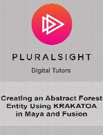 Digital Tutors - Creating an Abstract Forest Entity Using KRAKATOA in Maya and Fusion
