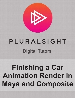 Digital Tutors - Finishing a Car Animation Render in Maya and Composite