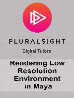 Digital Tutors - Rendering Low Resolution Environments in Maya