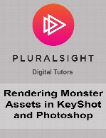 Digital Tutors - Rendering Monster Assets in KeyShot and Photoshop