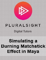 Digital Tutors - Simulating a Burning Matchstick Effect in Maya