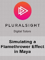Digital Tutors - Simulating a Flamethrower Effect in Maya