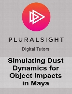 Digital Tutors - Simulating Dust Dynamics for Object Impacts in Maya