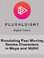 Digital Tutors - Simulating Fast Moving Smoke Characters in Maya and NUKE