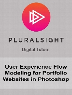 Digital Tutors - User Experience Flow Modeling for Portfolio Websites in Photoshop