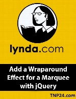 Lynda - Add a Wraparound Effect for a Marquee with jQuery