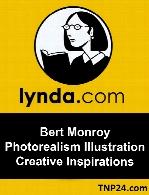 Lynda - Bert Monroy Photorealism Illustration Creative Inspirations