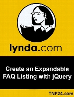 Lynda - Create an Expandable FAQ Listing with jQuery