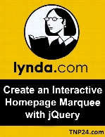 Lynda - Create an Interactive Homepage Marquee with jQuery