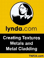 Lynda - Creating Textures Metals and Metal Cladding