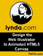 Lynda - Design the Web Illustrator to Animated HTML5 Canvas