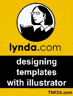 Lynda - designing templates with illustrator