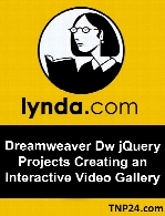 Lynda - Dreamweaver  jQuery Projects Creating an Interactive Video Gallery