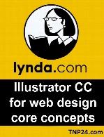 Lynda - Illustrator CC for Web Design Core Concepts