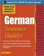 جمله‌سازی آلمانیPractice Makes Perfect German Sentence Builder
