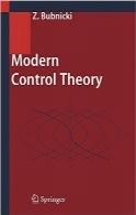 تئوری کنترل مدرنModern Control Theory
