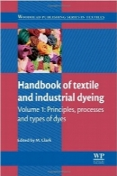 هندبوک نساجی و رنگ‌رزی صنعتی؛ بخش اولHandbook of Textile and Industrial Dyeing, Volume 1: Principles, Processes and Types of Dyes (Woodhead Publishing Series in Textiles)