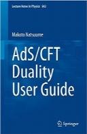 راهنمای کاربر دوگانگی AdS/CFTAdS/CFT Duality User Guide (Lecture Notes in Physics)