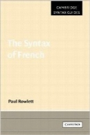 علم نحو زبان فرانسویThe Syntax of French (Cambridge Syntax Guides)