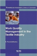 مدیریت کیفیت کار در صنعت نساجیWork quality management in the textile industry (Woodhead Publishing India in Textiles)