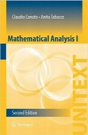 آنالیز ریاضیMathematical Analysis I (UNITEXT), 2nd ed