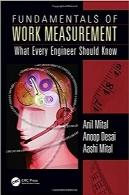 اصول اندازهگیری کار؛ چیزی که هر مهندسی باید بداندFundamentals of Work Measurement: What Every Engineer Should Know