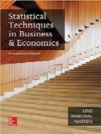 روشهای آماری در تجارت و اقتصادStatistical Techniques in Business and Economics, 17 Edition