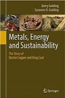فلزات، انرژی و پایداری؛ داستان دکتر مس و شاه زغال سنگMetals, Energy and Sustainability: The Story of Doctor Copper and King Coal