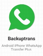 Backuptrans Android iPhone WhatsApp Transfer Plus 3.2.93