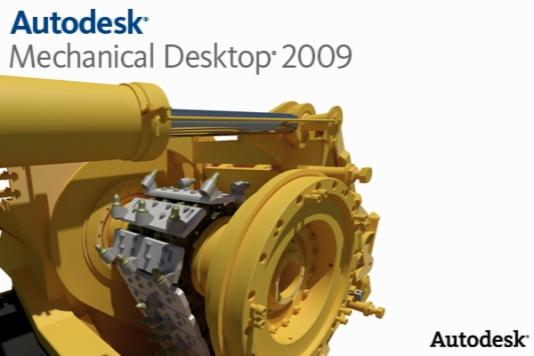 Autodesk Mechanical Desktop 2009 SP3