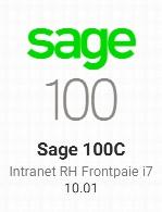Sage 100C Intranet RH Frontpaie i7 v10.01
