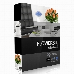 مدل های آماده گلCGaxis Models Volume 26 Flowers II