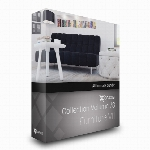 مدل های آماده انواع فرنیچر و مبلمان اتاق نشیمنCGaxis Models Volume 78 Furniture VII