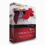 مدل های آماده انواع فرنیچر های اداریCGaxis Models Volume 80 Office Furniture II