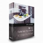 مدل های آماده  دکوراسیون آشپزخانهCGaxis Models Volume 86 Kitchen Furniture
